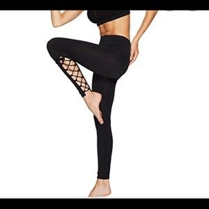 Free people movement tie up leggings